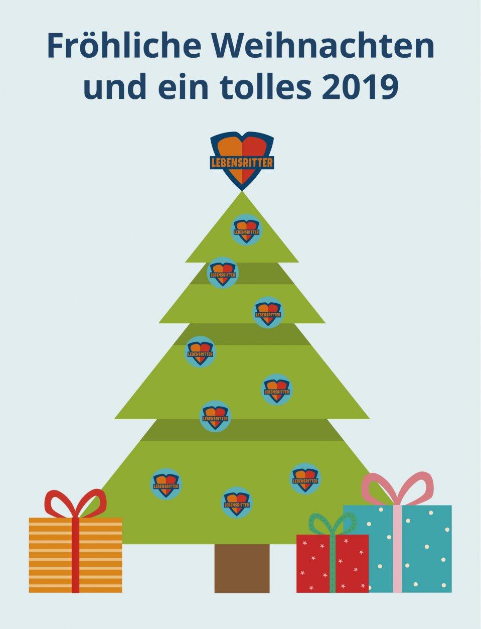 Weihnachten 2019 In Deutschland.Fröhliche Weihnachten Und Ein Tolles 2019 Lebensritter